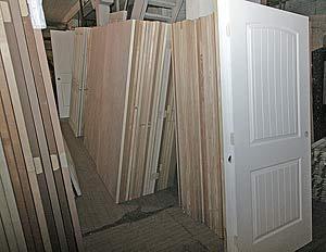 Photo of door blanks in stock at Overhauseru0027s Outlet. & Doors - Blanks Entry Doors Patio Doors Interior or Exterior Pre ...