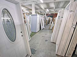 A photo of many pre-hung doors. & Doors - Blanks Entry Doors Patio Doors Interior or Exterior Pre ...