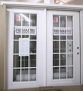 Doors blanks entry doors patio doors interior or for Double hung french patio doors